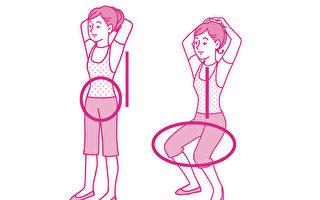 每天拿出1分钟,锻炼包括胸肌、背肌、腹肌、大腿肌肉在内的全身肌群。(世茂出版提供)