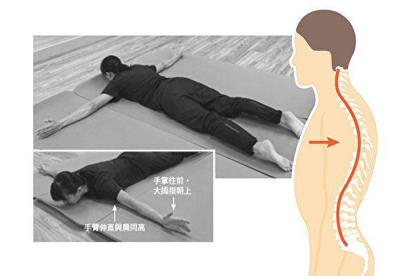 驼背会造成肺虚,如何强健胸背部肌肉、改善驼背?(商周、Shutterstock/大纪元合成)