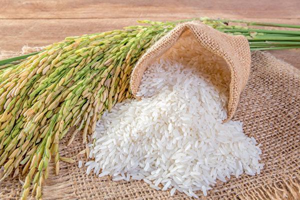 白米分为粳米和籼米。籼米较为细长。(Shutterstock)