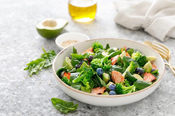 多吃深色蔬菜和莓果,有助改善慢性发炎,预防癌症。(Shutterstock)