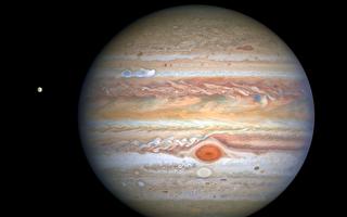 NASA:木星现醒目新风暴 小红斑正在变红