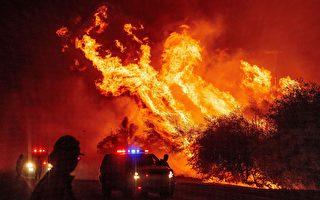门多西诺八月复合大火成加州之最 各地大火最新情况