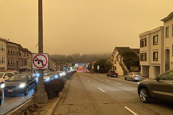 鎖城霧霾本週逐步消散 大風增加消防壓力