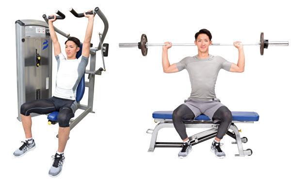 重訓之機械訓練:比單純抬槓鈴更能安全挑戰肌肉極限。(采實文化提供)