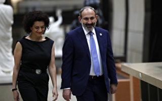 亚美尼亚总理夫人接受训练 拟率娘子军出征
