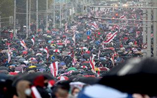 白俄羅斯爆反總統大規模抗議 數十人被抓