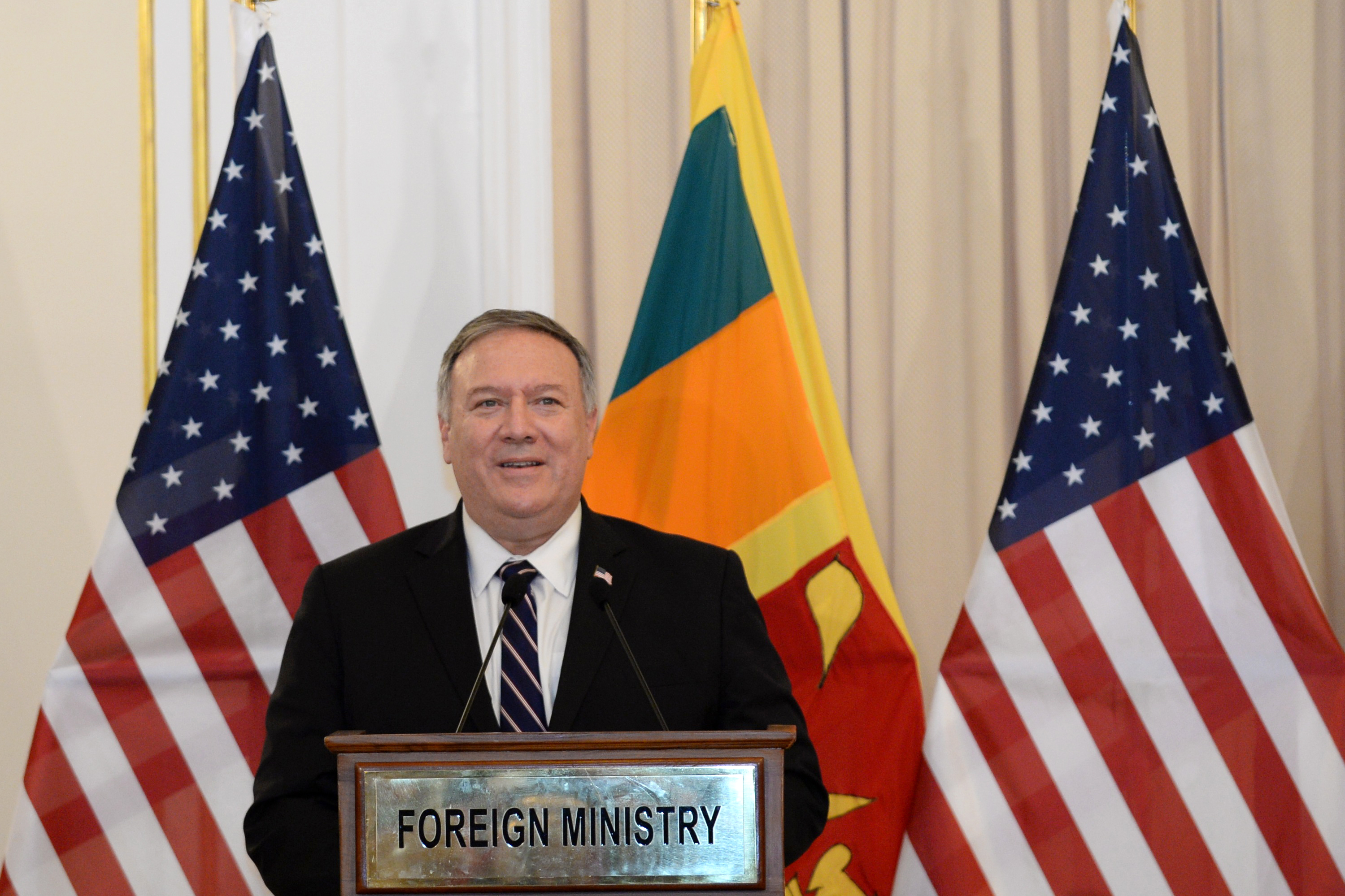 蓬佩奧歷史性宣佈:將在馬爾代夫設美使館