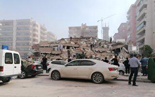 強震襲土耳其希臘近海 至少14死逾400傷