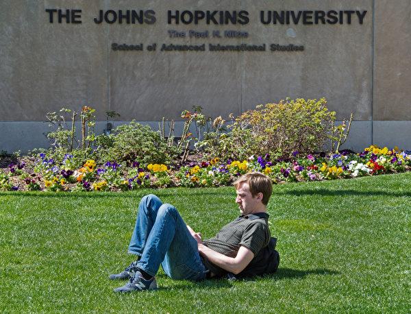 約翰·霍普金斯大學 (PAUL J. RICHARDS/AFP)