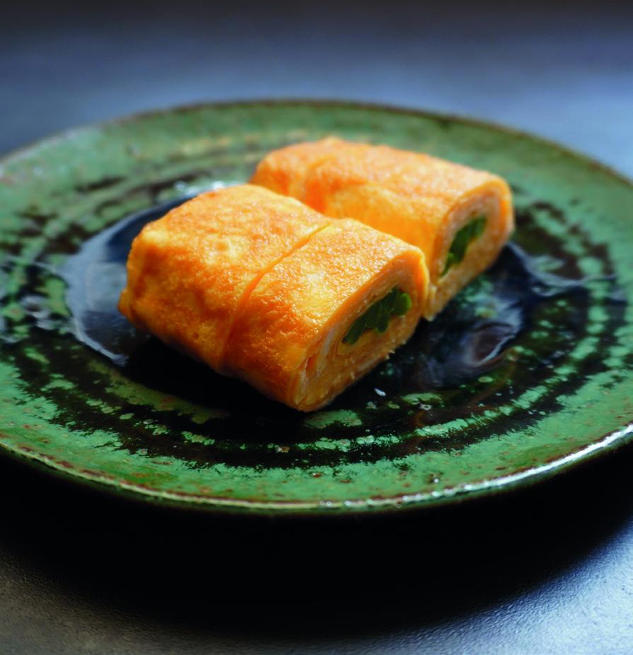 四季豆玉子燒
