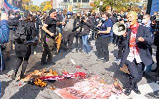 【视频】波士顿多族裔集会挺川反暴力 BLM骚乱者被捕