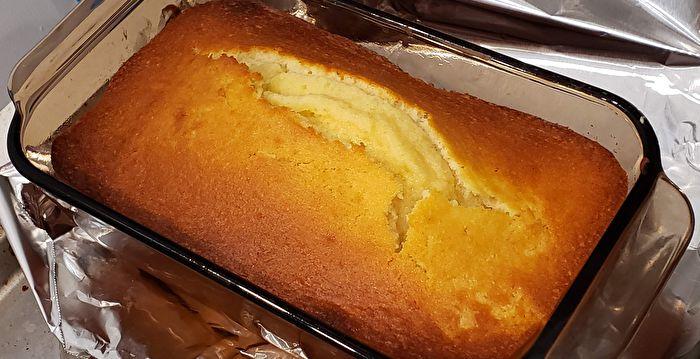 【梁廚美食】烤牛油磅蛋糕 濃郁奶香享健康