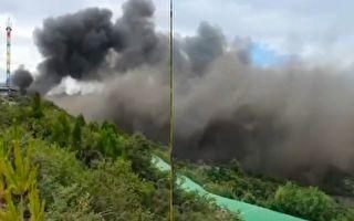 山西太原台骀山景区发生火灾 13死15伤