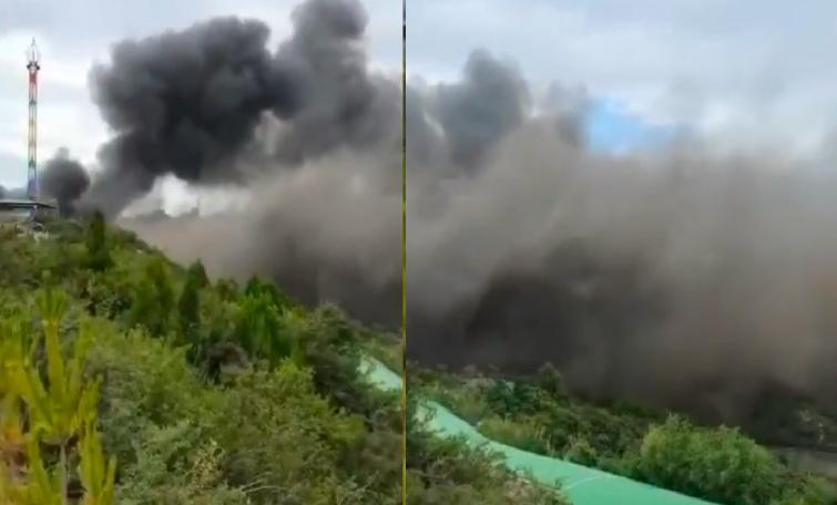 山西太原台駘山景區發生火災 13死15傷