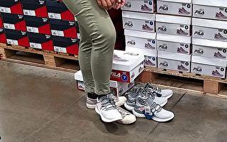 婦人好市多試穿鞋與眾不同 網讚「水準太高了」