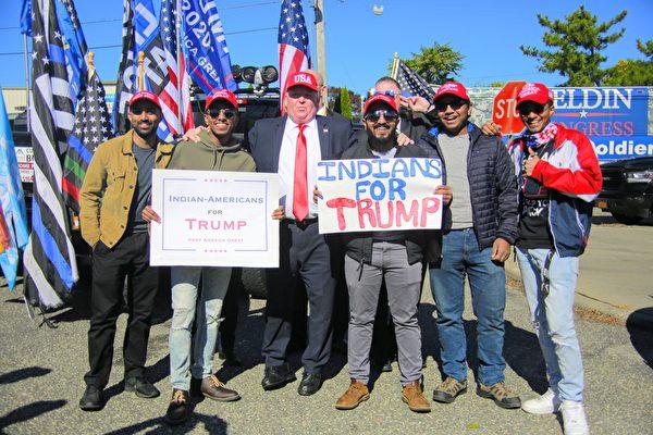近千位長島傑斐遜港居民 舉辦挺川車隊遊行