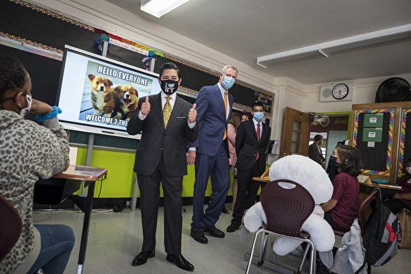 纽约市教育总监以疫情为由 暗示取消资优班考试