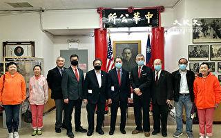 競選紐約州參議員 鄭永佳訪中華公所