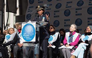 纽约市警局百年来首位女性巡逻长诞生