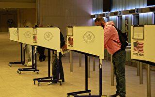 纽约市84万人已投票 提前投票周日结束