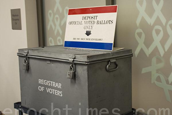 圣地亚哥县寄出190万邮寄选票 可追踪