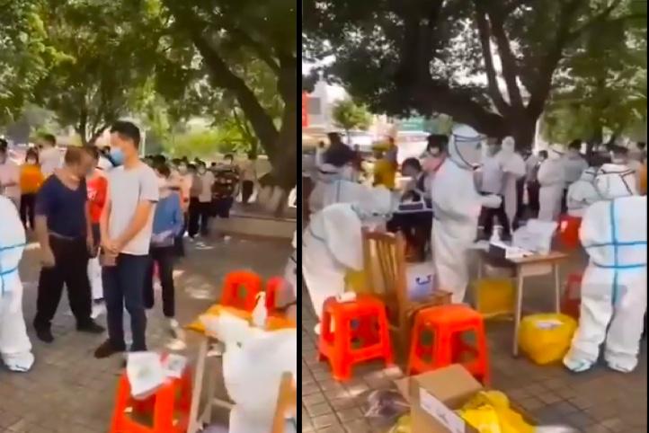 【一線採訪】廣州一度假村酒店現疫情被封