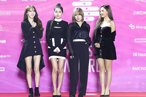 MAMAMOO《Dingga》摘19區iTunes歌曲榜冠軍