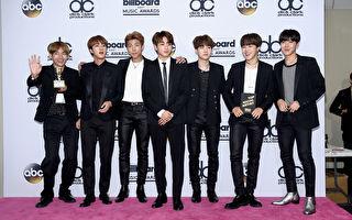 BTS夺美告示牌HOT 100榜冠亚军 史上第五组