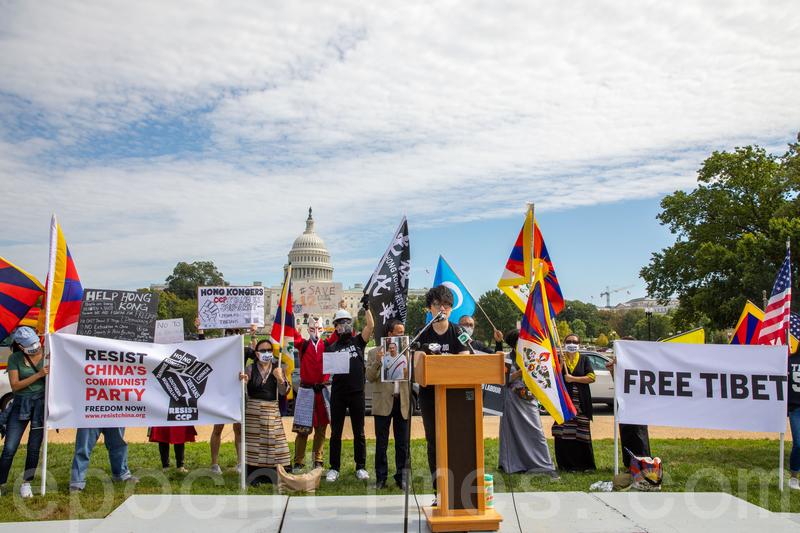 逾十團體10月1日華府抗議中共暴政 美議員聲援