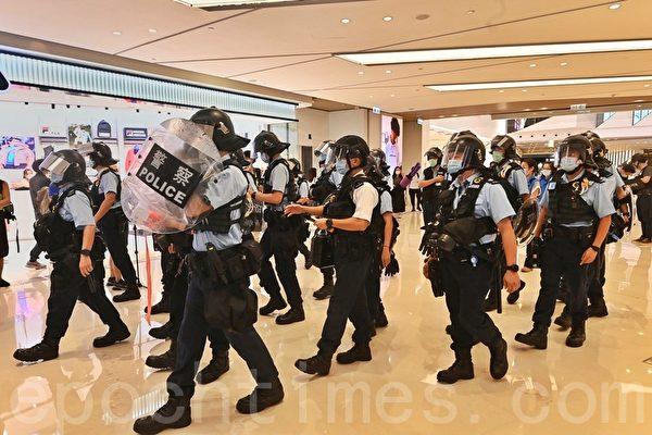 """元朗7.21事件网民号召集会 第二代""""美国队长""""叫口号被拘"""