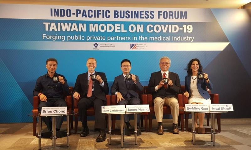 酈英傑:台灣是美國及理念相近國重要夥伴