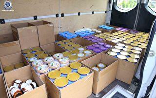 悉尼警方查获1350罐被盗婴儿奶粉 两男被控