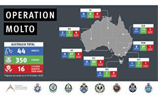 澳警破獲戀童團伙 起訴44人 16名兒童獲救