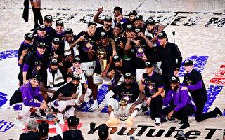 NBA总决赛 湖人击败热火 第17次夺总冠军