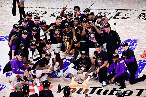 NBA總決賽 湖人擊敗熱火 第17次奪總冠軍