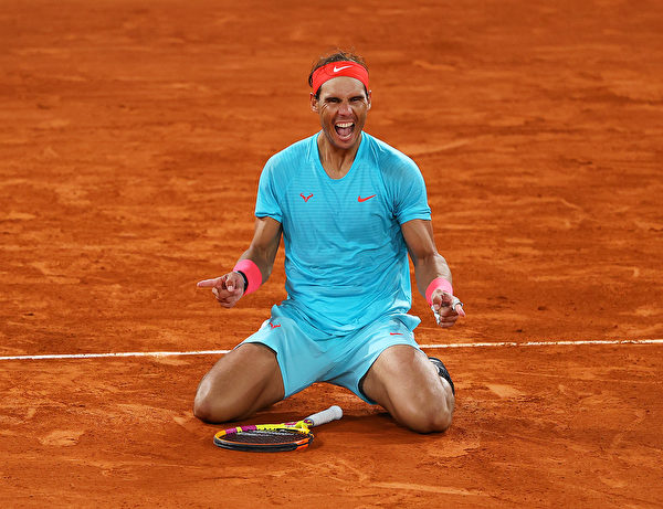 「紅土之王」納達爾(Rafael Nadal)