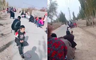 中共肺炎疫情升温 新疆喀什4地列高风险区