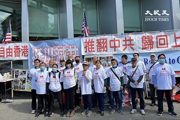 法拉盛磐石教會主持人紹俊表示,美國移民局對中共黨員的禁止是「合理合法、天經地義的」。(施萍/大紀元)