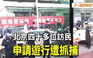【一線採訪視頻版】北京數十位訪民申請遊行被抓