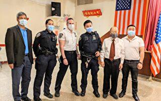市警五分局警民會 華人新警視工作為榮譽