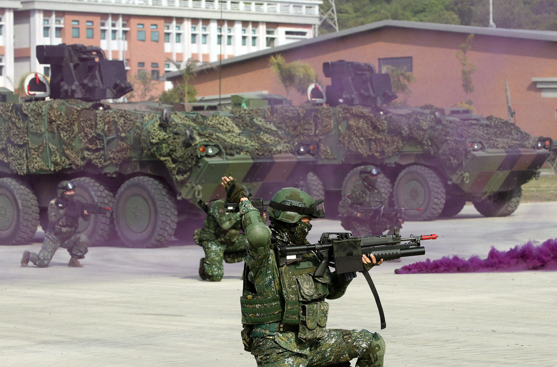若中共武統 台民調:近八成人願挺身保台灣