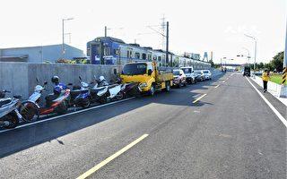 旅客回家的路变宽敞 台铁永靖车站联外道路通车