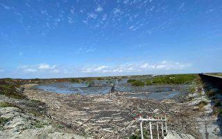 淨灘熱情不減 2,500人守護芳苑海岸