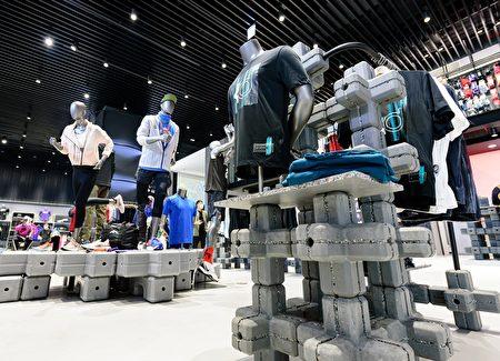 製鞋廢料可以回收重生為陳列藝術。