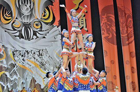 世新大学美丽的啦啦队精彩的演出