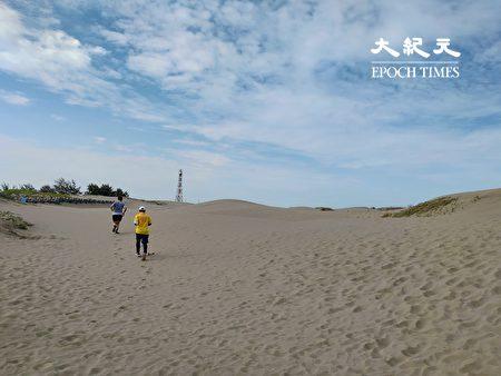 國聖燈塔附近的沙洲景觀。
