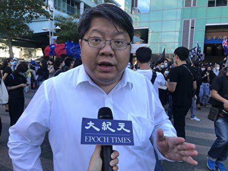 赖中强律师表示,尽管媒体有相左的政治立场,那都是国家内部不同声音,不该勾串另一个国家作为对台统战攻击手段,这样的媒体不该继续展延他的执照。