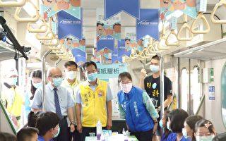科普列车抵云林 上千学生民众  一起玩科学