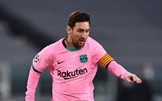 梅西助攻外带点球得分 巴萨2:0退尤文图斯