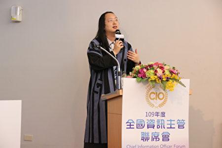 行政院政務委員唐鳳。